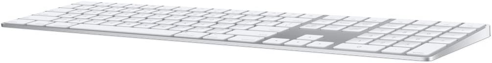 Apple Magic Tastatur mit Ziffernblock, Bluetooth (Deutsches Tastatur-Layout, QWERTZ) Silber