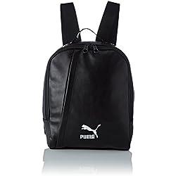 Puma Prime Icon Bag P Bolsa, Unisex Adulto, Negro Blanco, Talla única