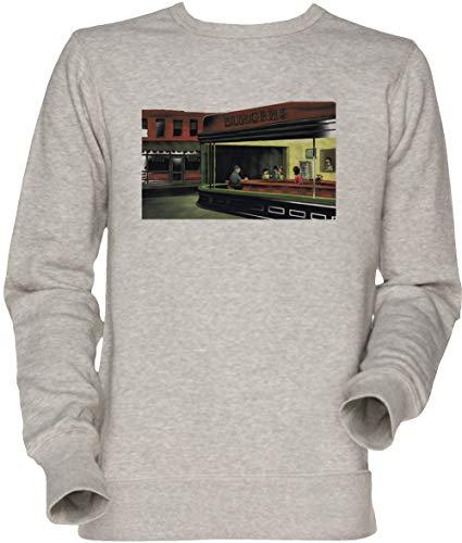 Vendax Nacht Burgers - Bob Burgers Unisex Herren Damen Jumper Sweatshirt Grau Men's Women's Jumper Grey