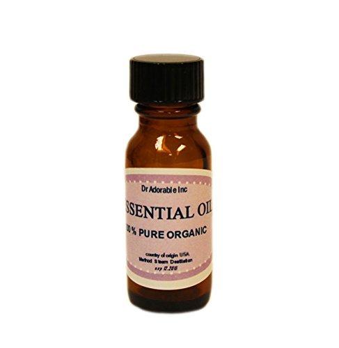 Lemon Essential Oil 100% Pure Organic 0.6 Oz/18 Ml