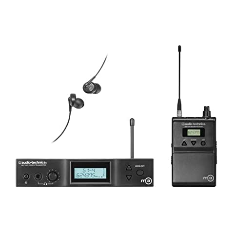 Audio-Technica M3 Wireless In-Ear Monitor System mit Mix Control und EP3 Dynamischen Kopfhörern