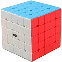 HJXDtech-Moyu Weichuang GTS profesional 5x5x5 Cubo velocidad cubo mágico (color)