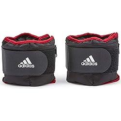 adidas Pesas Tobillo Ajustable - Negro, 2 kg