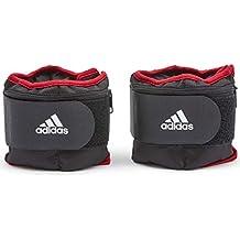 adidas Pesas Tobillo Ajustable - Negro, 1 kg