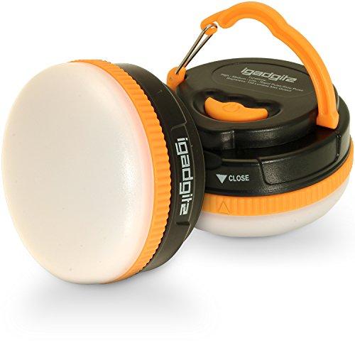 igadgitz Xtra Lumin 150 Portátil 150lm LED Linterna Camping con Garantía de 1 Año