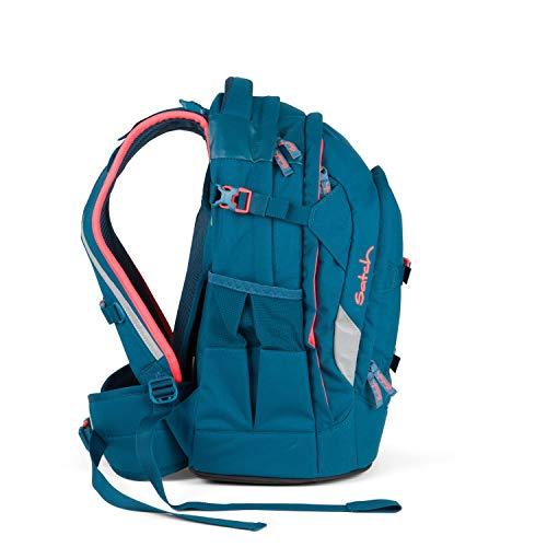 satch pack Schulrucksack Deep Sea - 5