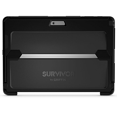 Griffin Survivor Summit Custodia per iPhone 7/7 Plus, Nero Nero/Grigio Scuro/Nero