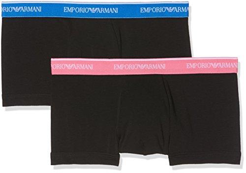 Emporio Armani Underwear Men's 111210 Hipster, Black (Nero 17020), X-Large