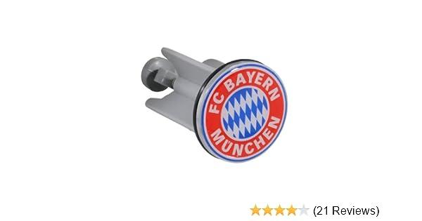 Stopfen FCB St/öpsel FC Bayern M/ünchen Waschbeckenst/öpsel Plus Lesezeichen I Love M/ünchen