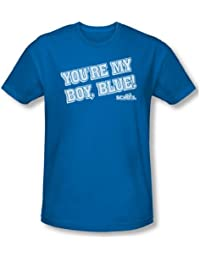 Old School - Herren My Boy Blue T-Shirt In Königs