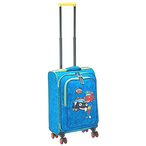 Travelite Robuste, fröhliche Kinderkoffer und Gepäckstücke Helden der Stadt machen jede Reise zum Abenteuer Kindergepäck, 34 Liter, Marine