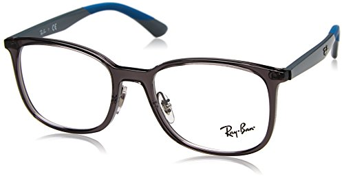 Ray-Ban Herren 0RX 7142 5760 52 Brillengestelle, Grau (Transparent Grey),