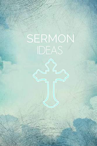 Sermon Ideas: Pastor Book Notepad Notebook Composition and Journal Gratitude Diary di Retrosun Designs