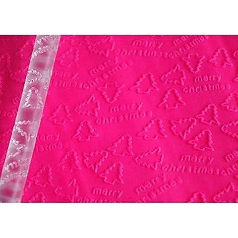 cuatro c herramientas fondant navidad de balanceo de primero de la magdalena, fondant textura rodando rodillo patrón decoración pin