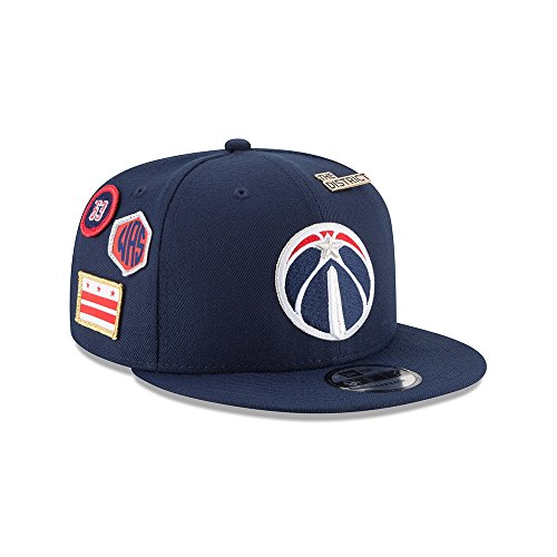 hot sale online e6117 faa5e New Era NBA WASHINGTON WIZARDS Authentic 2018 Draft 9FIFTY Snapback Cap
