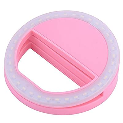 Fashion Mini Selfie Fill LED Light Portable Round Ring Flash for iPhone Samsung - cheap UK light store.