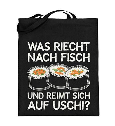 Chorchester Perfekt für Sushi-Fans - Jutebeutel (mit langen Henkeln)
