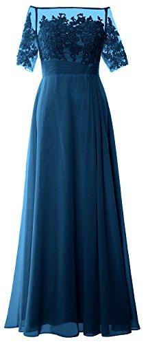 MACloth -  Vestito  - lungo - Donna Foglia di tè 50