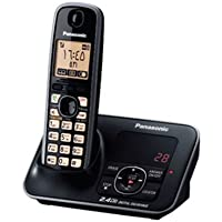 Panasonic Cordless Telephone - Black [KX-TG3721]