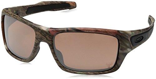 Oakley Herren Turbine Sonnenbrille, Braun (King Woodland Camo), 65