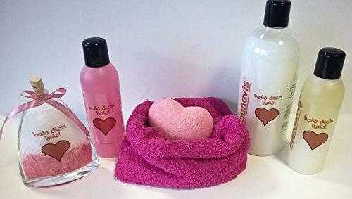 Geschenk Hab dich lieb – Geschenkset für Frauen 7 tlg.- direkt vom Hersteller!
