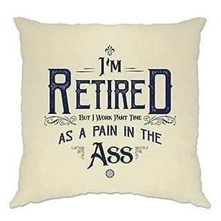 Pensionierung Kissenhülle Ich bin im Ruhestand, aber ich arbeite Teilzeit Natural One Size