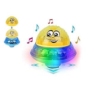 Aokebeey Kinderbad Wasserball Spielzeug Automatische Induktionsspray Wasserbad Spielzeug Kinder Treiben Schwimmbecken Badespielzeug