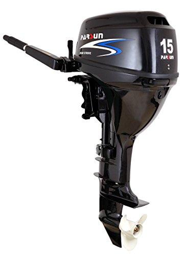 Außenborder Parsun F15 BML: 15 PS Langschaft, Bootsmotoren, Außenbordmotor, Flautenschieber (Bootsmotoren Aussenborder 15 Ps)