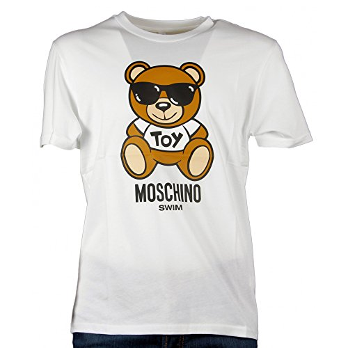 Moschino underwear 1915 2304 t-shirt mm uomo bianco xl