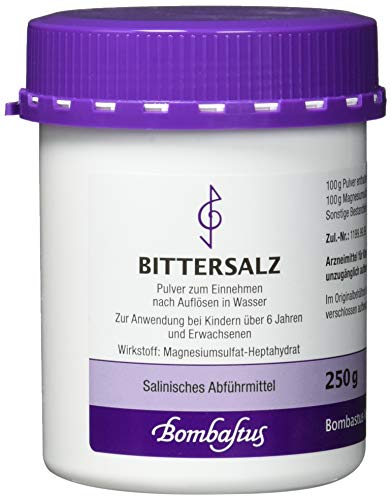 Bittersalz Pulver, 250 g
