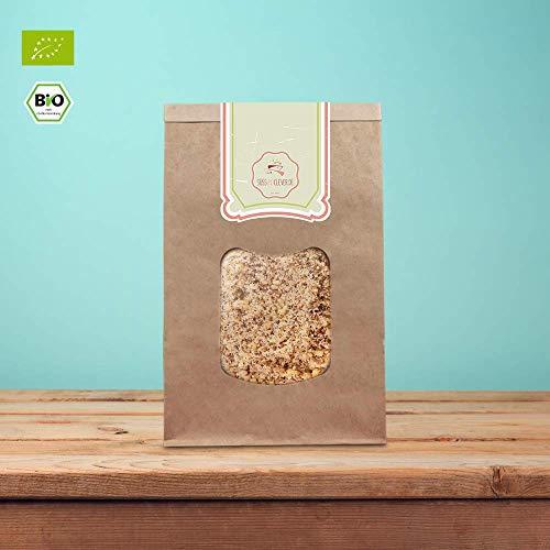 süssundclever.de®   Bio Mandeln gemahlen   braun   1 kg   Premium Qualität: sehr fein gemahlen   qualitativ-hochwertiges Naturprodukt   100% naturbelassen