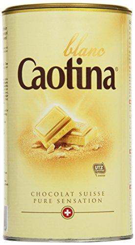 Caotina Blanc Weiße Schokolade Dose 500g 3er Pack (3 x 500 g)