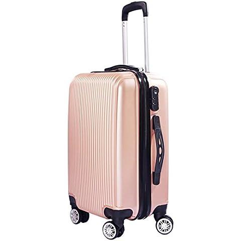ABS Trolley universale della rotella di sicurezza bagagli della cassa di viaggio , 5 , 24 inch