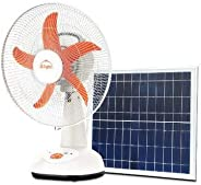 d.light SF20 Solar Fan (Multi-Colored, with Separate Solar Panel)