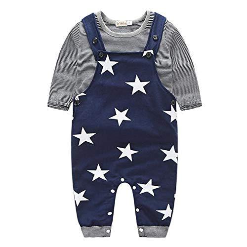 Ropa de Bebe Nino Recien Nacido Impresión de Estrella Blusa Bebe...