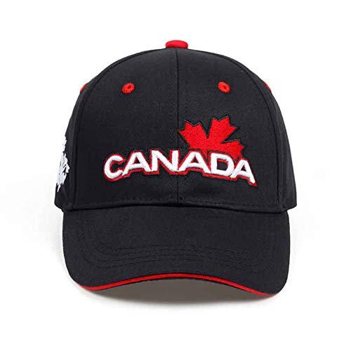 JKYJYJ Baumwolle Gorras Kanada Baseball Cap Flagge Von Kanada Hut Snapback...