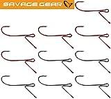 Savage Gear Finezze Standout Drop Shot Haken - Angelhaken, Angelhaken zum Drop Shot Angeln, Jighaken, Dropshot Einzelhaken, Größe:2