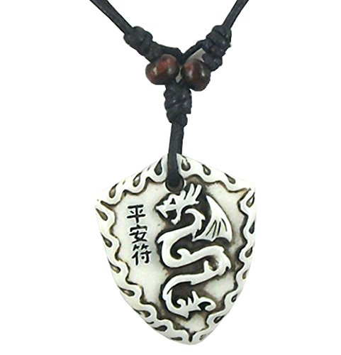 Arme Harz (Halskette Mit AnhäNger Arme Mit Chinesischen Drachen Harz Gradienteneffekt Geschenkidee FüR MäNner, Frauen)