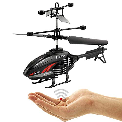 Night Shaddow,Fliegender Hubschrauber-Einfach zu Steuern per Handbewegung!Extra stabile Bauweise!EIN super Geschenk für Junge und alte Technik Freaks zu Weihnachten!-Helicopter,Mini Drohne