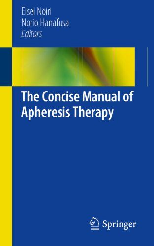 The Concise Manual of Apheresis Therapy (English Edition)