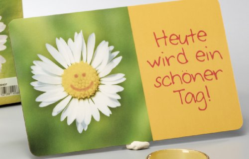 Ein Brettchen für Dich 'Heute wird ein schöner Tag !'