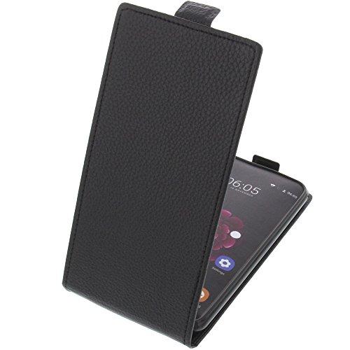 foto-kontor Tasche für Oukitel U20 Plus Smartphone Flipstyle Schutz Hülle schwarz
