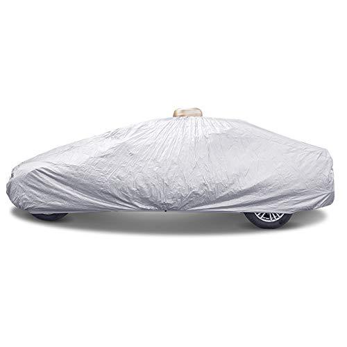 Autoabdeckung Automatische Auto Schutzabdeckung mit Fernbedienung, Allwetter wasserdicht, atmungsaktiv, Winddicht, staubdicht, UV Universal Car Cover