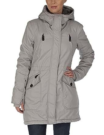 Bench Damen Jacke Parka Tara III grau (Neutral Grey) X-Small