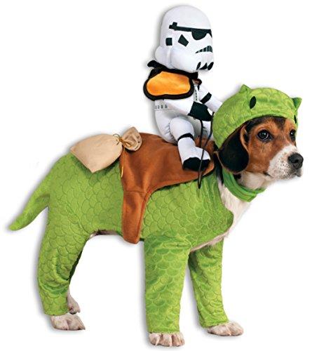 Dewback mit Stormtrooper Star Wars Hundekostüm - 10-18 (Kostüm Hund Stormtrooper)