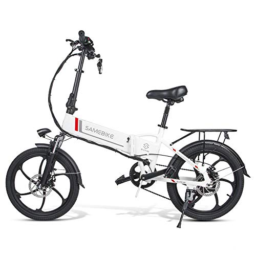 SHIJING Samebike 20LVXD30 tragbare Falten elektrisches Fahrrad 20 Zoll Reifen 350W Motor ebike Max 35km / h e Fahrrad Für Erwachsene