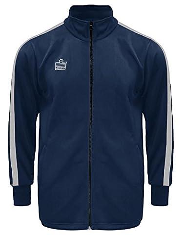 Admiral Reno Soccer Warm Up Jacket, Navy/White, Youth