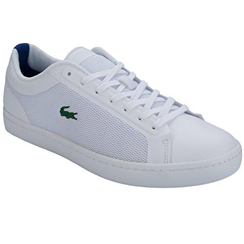 Lacoste Straight Set Sport Herren Sneaker Weiß