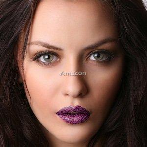 Lippen Wrap (Tattoo's) von Passions- Lippen - lila Gepard