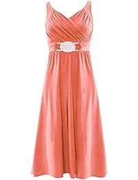 Topnotch Women Short Buckle Evening Prom Maxi Bridesmaid Dress